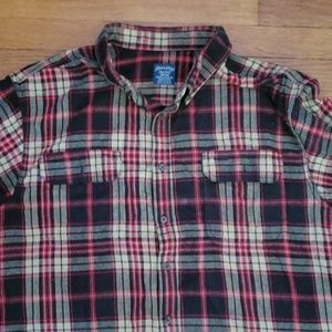 Faded Glory Shirts - 👕 Men's FG Plaid Flannel Shirt 3XL